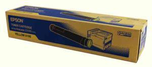 Gul lasertoner C9100 - Epson - 12.000 sider.