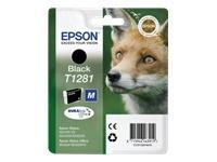 Sort blækpatron t1281 - epson - 5,9ml fra N/A på printerpatroner.dk