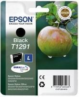 Sort blækpatron T1291 - Epson - 11,2 ml.