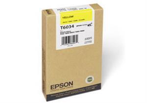 N/A – Gul blækpatron - epson t6534a - 200ml. fra printerpatroner.dk