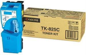 Cyan lasertoner TK-825 - Kyocera - 7.000 sider