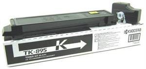 Sort lasertoner TK895 - Kyocera - 12.000 sider.