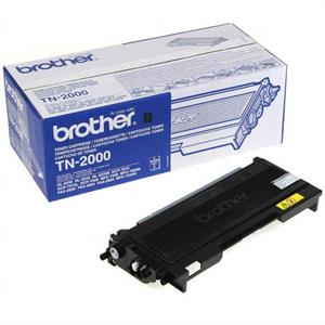 Image of   Sort lasertoner 2000 - Brother - 2.500 sider
