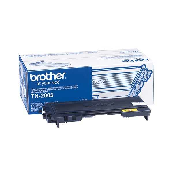 Image of   Sort lasertoner - Brother 2005 - 1.500 sider