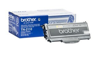 Image of   Sort lasertoner TN-2110 - Brother - 1.500 sider.