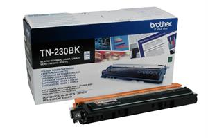 Image of   Sort lasertoner 230BK - Brother - 2.200 sider.