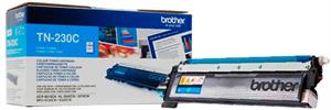 Brother Cyan Lasertoner 230C - Brother - 1.400 Sider. Originale Brother Lasertoner