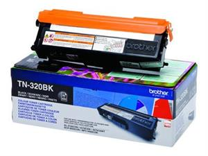 Image of   Sort lasertoner TN320BK - Brother - 2.500 sider