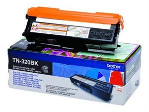 Sort lasertoner TN320BK - Brother - 2.500 sider