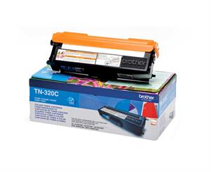 Image of   Cyan lasertoner TN-320C - Brother - 1.500 sider