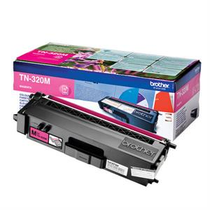 Magenta lasertoner TN-320M - Brother - 1.500 sider