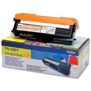 Gul lasertoner TN-320Y - Brother - 1.500 sider