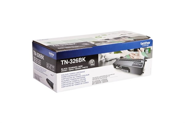 Image of   Sort lasertoner 326BK - Brother - 4.000 sider.