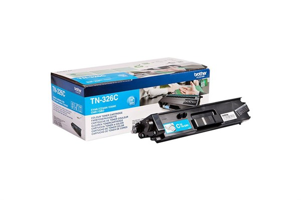 Image of   Cyan lasertoner TN326C - Brother - 3.500 sider.