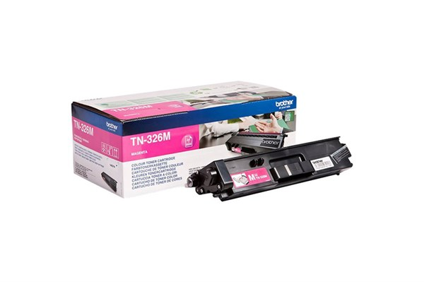 Image of   Magenta lasertoner TN326M - Brother - 3.500 sider.