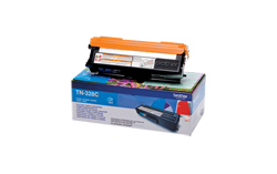 Image of   Cyan lasertoner TN-328C - Brother - 6.000 sider