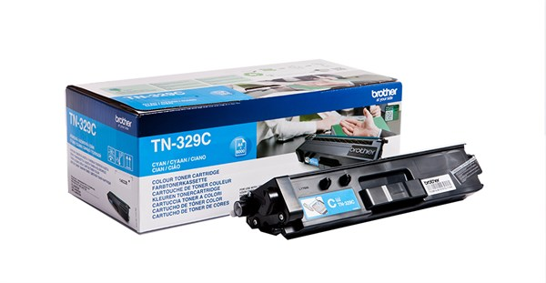 Image of   Cyan lasertoner 329C - Brother - 6.000 sider.