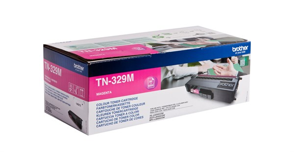 Image of   Magenta lasertoner 329M - Brother - 6.000 sider.