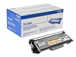 Image of   Sort lasertoner - Brother 3390 - 12.000 sider