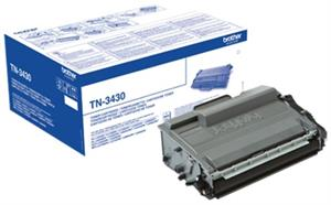 Sort lasertoner TN3430 - Brother - 3.000 sider