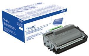 Sort lasertoner 3512 - Brother - 12.000 sider