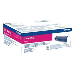 Magenta lasertoner TN421M - Brother - 1.800 sider.