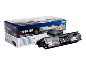 Sort lasertoner TN-900BK - Brother - 6.000 sider.