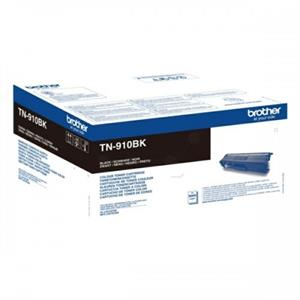 Image of   Sort lasertoner TN-910 - Brother - 9.000 sider.