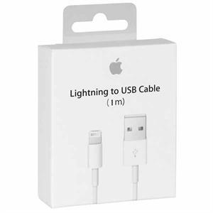 Originalt apple lightning til usb kabel (1 m)