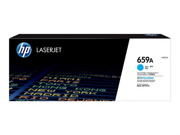Image of   Cyan lasertoner - HP W2011A - 13.000 sider