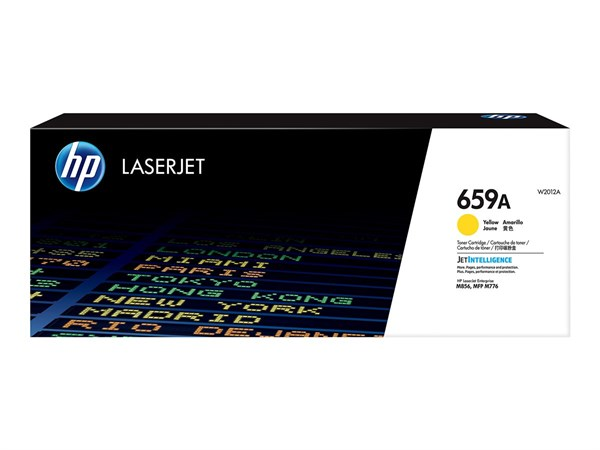 Image of   Gul lasertoner - HP W2012A - 13.000 sider