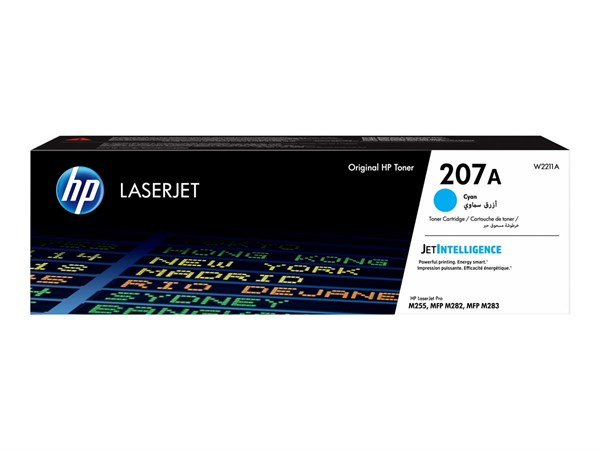 Image of   Cyan lasertoner - HP W2211A - 1.250 sider