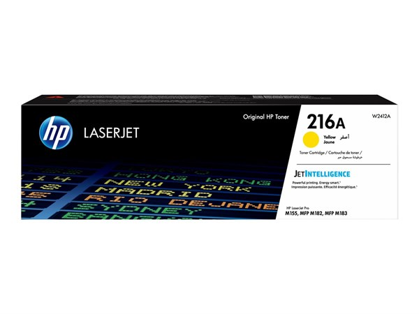 Image of   Gul lasertoner - HP W2412A - 850 sider
