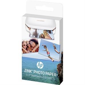 Image of   Fotopapir Zink Sticky Backed Photo Papir - HP - 20 ark
